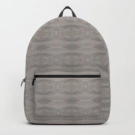Elegant Gray Geometric Southwestern Pattern - Luxury Backpack