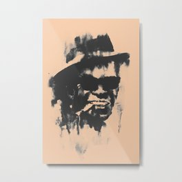 Washing away Lightnin' Hopkins Metal Print