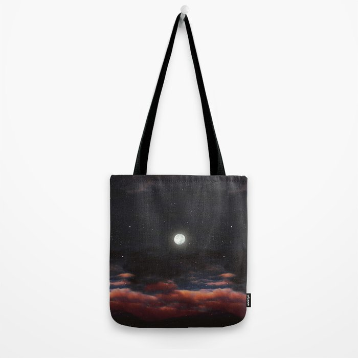 Dawn's moon Tote Bag