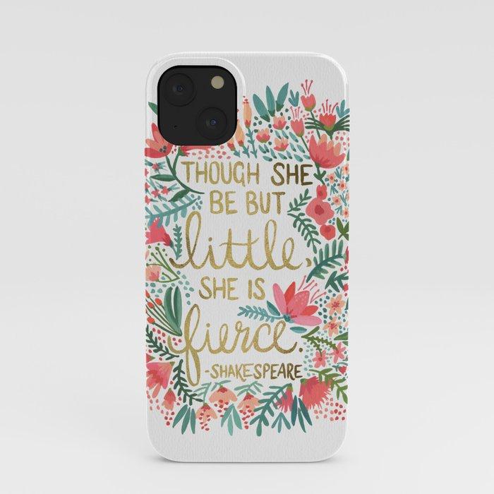 Little & Fierce iPhone Case