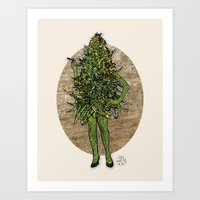 Mama Nugs Art Print