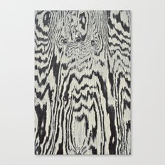 Zebra Wood Canvas Print