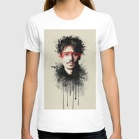 johnny depp T-shirts featuring Johnny Depp by Brigitta