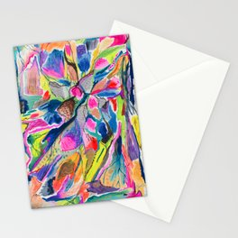 Fluorite Thin Section Watercolor Stationery Cards