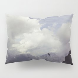 clouds over mountains Pillow Sham