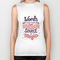 risa rodil Biker Tanks featuring Source of Magic by Risa Rodil