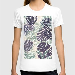 Mint and Monstera T-shirt
