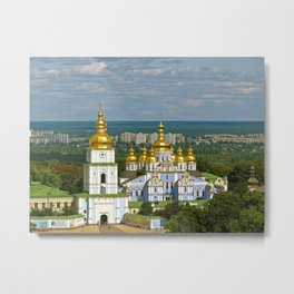 Golden Domes of  Kiev Metal Print