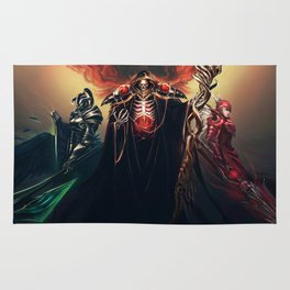 The Sorcerer King - Overlord Rug