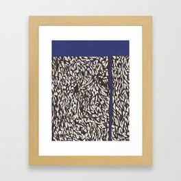 A Break in the Wall Framed Art Print