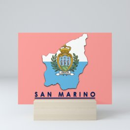 San Marino - Europe Mini Art Print