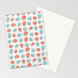 Wild Berries Pattern Illustration Stationery Cards