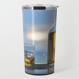 Evening Cocktail on Ice Travel Mug