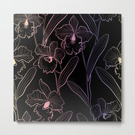 Wild orchids  #Orchid Metal Print