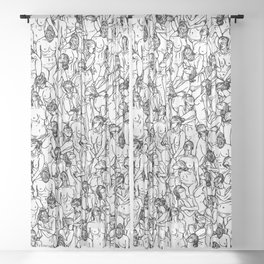 Unveiled Sheer Curtain
