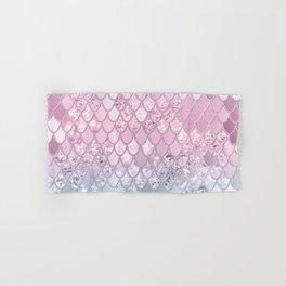 Mermaid Glitter Scales #2 #shiny #decor #art #society6 Hand & Bath Towel