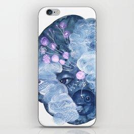 The rabbit mask iPhone Skin