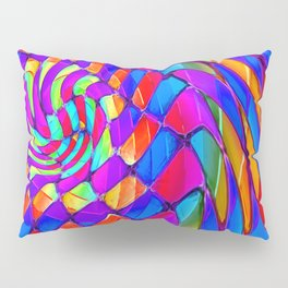 Tumbler #34 Trippy Psychedelic Optical Illusion Design by CAP Pillow Sham