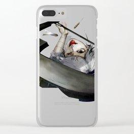 juuzou's stitches fun Clear iPhone Case