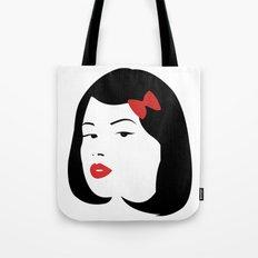Girl #4 Tote Bag