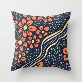 FLOWERS FOR SHERRY 004 Throw Pillow