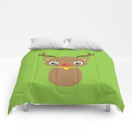 Red Nosed Reindeer Comforters