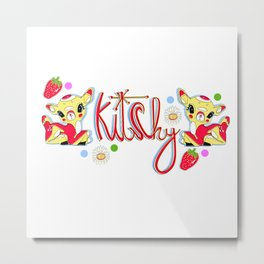 Kitchy Metal Print