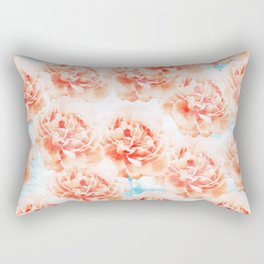 Abstract floral pattern 5 Rectangular Pillow