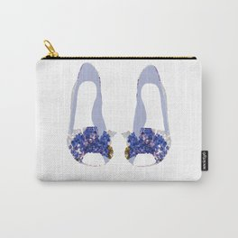 Hydrangea Shoes Carry-All Pouch