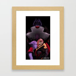 A Song for the Robber Queen Framed Art Print