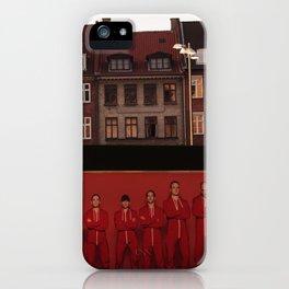 men beyond the city iPhone Case
