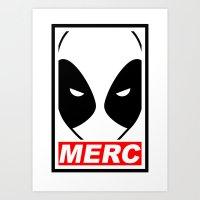 MERC Art Print