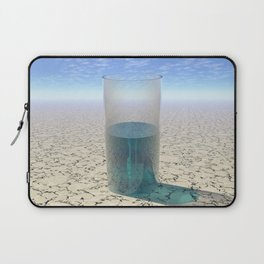 Glass of Water Laptop Sleeve