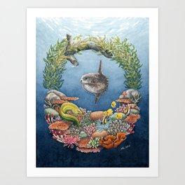 Elements of nature - Water Art Print