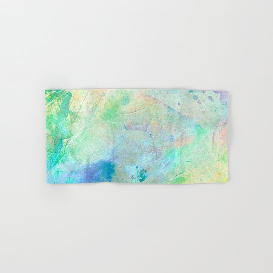 Pastel Color Splash 06 Hand & Bath Towel