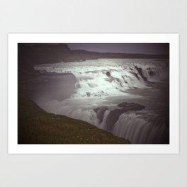 The Epic Gullfoss, Iceland Art Print