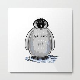 cute penguin Metal Print