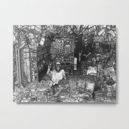 Malaysian Mamak Bread Shop - Kepala Batas, Pulau Pinang / Penang, Malaysia. Metal Print