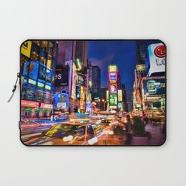 You Will Never Forget: Times Square, New York City Laptop Sleeve