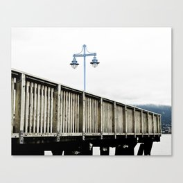 White sky Canvas Print