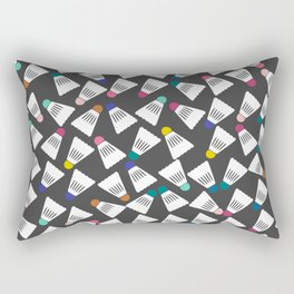 Cute Badminton Pattern Rectangular Pillow