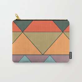 colorful triangles Carry-All Pouch