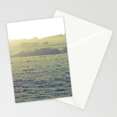 Light in the fields Stationery Cards