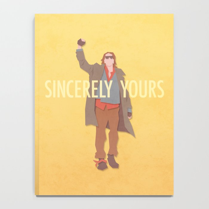 Sincerely Yours (The Breakfast Club) Notebook
