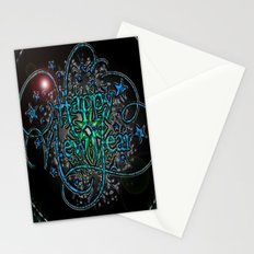 Tomorrow of the stomach of weather will appear a new year. Stationery Cards