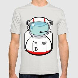 Astronaut Bitcoin Patch T-shirt