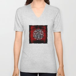 Red Cloud Unisex V-Neck