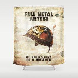 Full metal artist Shower Curtain