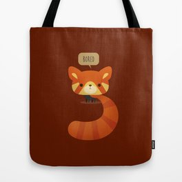 Little Furry Friends - Red Panda Tote Bag