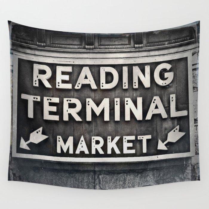Reading Terminal Market Wall Tapestry